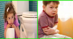 علاج الامساك عند الاطفال