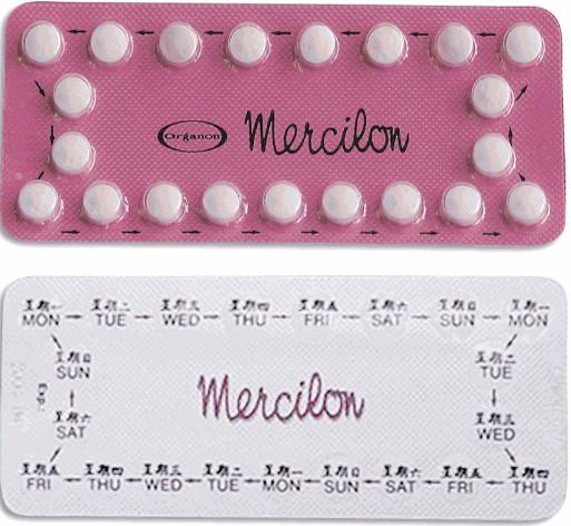 حبوب منع الحمل ميرسيلون