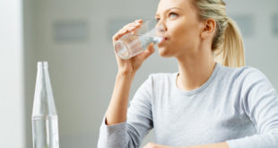 علاج قرحة المعدة بالماء