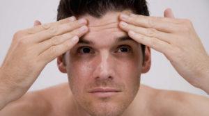 علاج تجاعيد الوجه المبكرة للرجال بالاعشاب