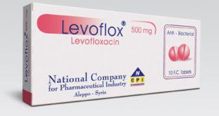 حبوب ليفوفلوكس 500 mg حبوب