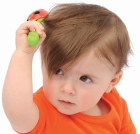 تطويل شعر الاطفال الرضع