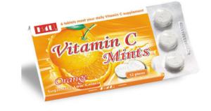 كبسولات فيتامين سي