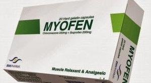 ميوفين Myofen capsules